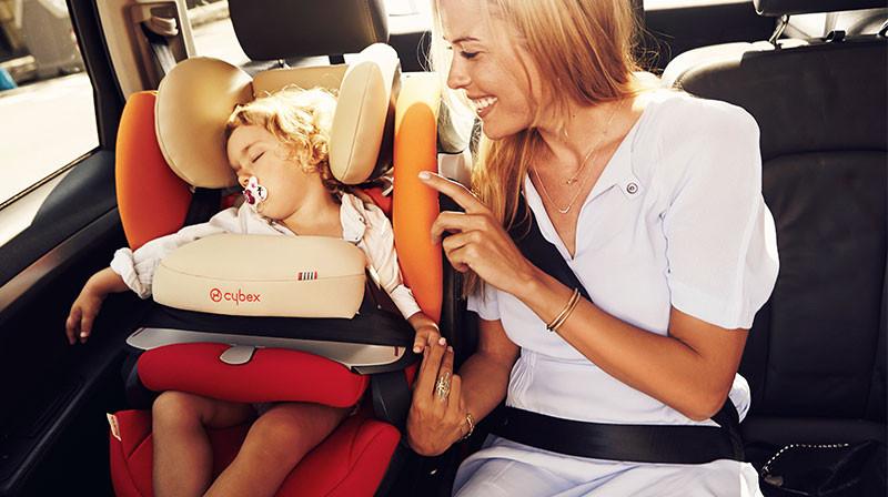 Vožnja je sigurna samo u auto sedištu