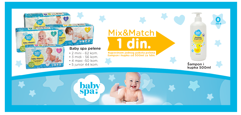 Baby Spa Mix