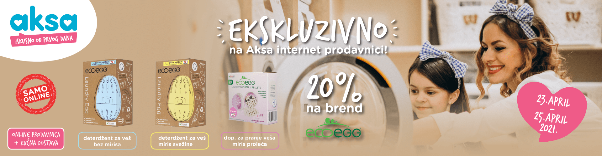 Online vikend akcija - Eco Egg