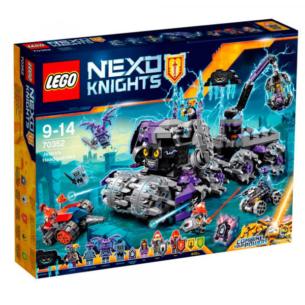 Lego nexo knights jestros headquarters