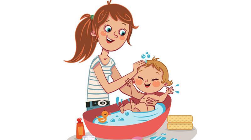 Nega bebe, uživanje i za bebu i za roditelje