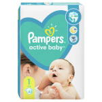 Pampers pelene VP 1 newborn 2-5kg 43kom