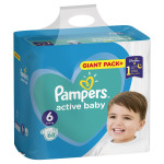Pampers pelene bag 6 extra large 13-18kg 68kom
