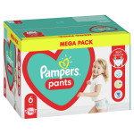 Pampers pants pelene MB 6 extra large 16+kg 88kom