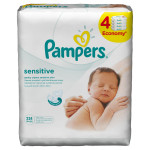 Pampers baby vlažne maramice sensitive 4x56kom