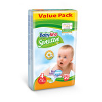 Babylino pelene sensitive VP 4 maxi 7-18kg 50kom