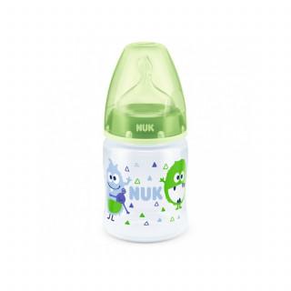 Nuk FC plus plastična flašica, silikon 150ml, 0-6m