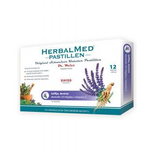 HerbalMed pastile žalfija i ženšen 12kom