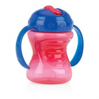 Nuby čaša sa slamčicom 240ml