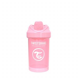 TS čaša Crawler cup 300ml 8m+ pastelna roze
