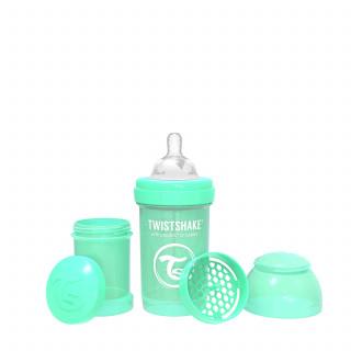 TS flašica anti-colic 180ml pastelna zelena