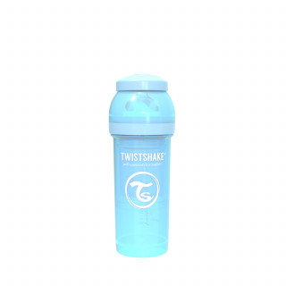 TS flašica anti-colic 260ml pastelno plava