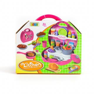 Qunsheng Toys, igračka, kuhinja u koferu