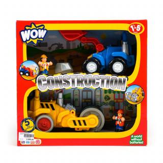 Wow igračka set 2u1 građevinci