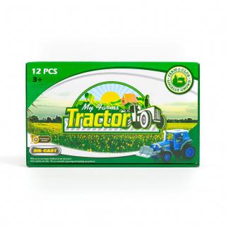 Hk Mini igračka traktor die cast, display 12 kom