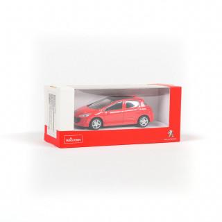 Rastar automobil Peugeot 308 1:43 - crveno