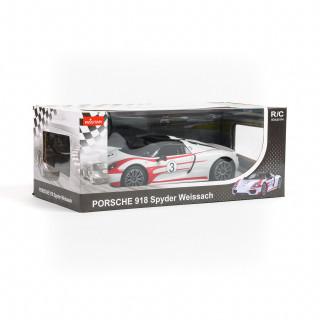 Rastar RC auto Porshe 918 Spyder 1:14 - crn, bel