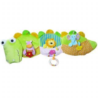 Biba Toys plišana ogradica za krevetac krokodil