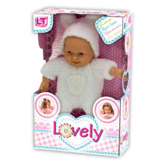 Loko toys,mekana lutka beba, 24 cm