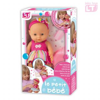 Loko toys,lutka beba koja pije i piški , 29 cm