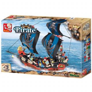 Sluban kocke, piratski brod, 512 kom
