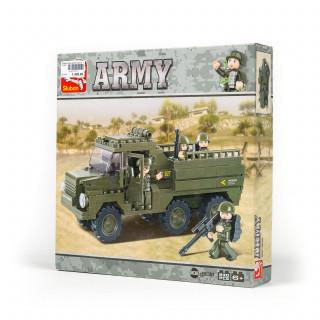 Sluban kocke vojnicki kamion 230 kom