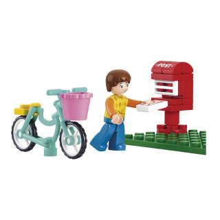 Sluban kocke, poštansko sanduče, 33 kom