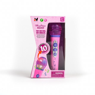 Hk Mini igračka mikrofon, roze