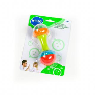Huile toys, zvečka sa lopticama