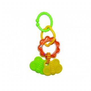 Biba Toys zvečka-glodalica leptirići