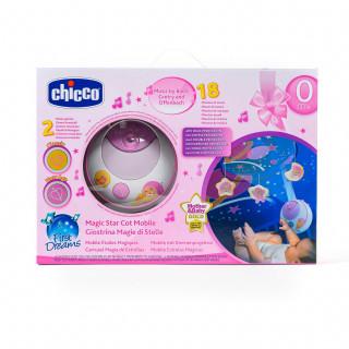 Chicco vrteška Magična zvezda (fd)-roze