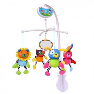Biba Toys muzička vrteška srećni drugari