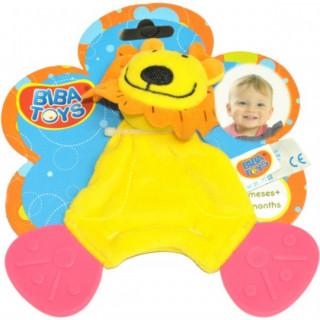 Biba Toys zvečka glodalica - kuca, lav i kravica