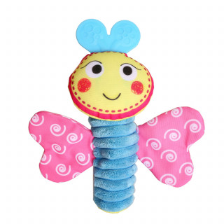 Biba Toys zvečka - šareni leptirić