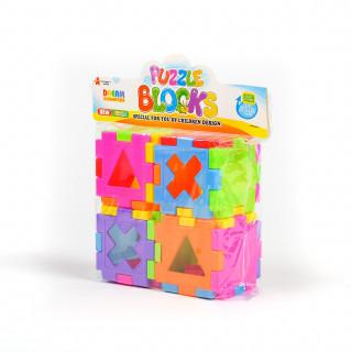 HK mini igračka, sastavi kocke, 4 komada