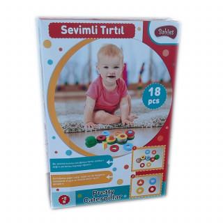 Set za bebe edukativna gusenica