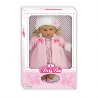 Loko toys,lutka devojčica u kaputiću, 39cm
