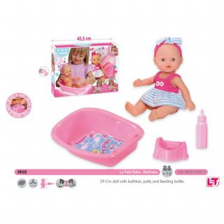 Loko toys, lutka sa flašicom,nošom i kadicom,29 cm