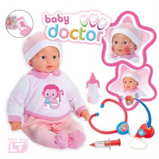 Loko toys, lutka Doktor set, 43 cm