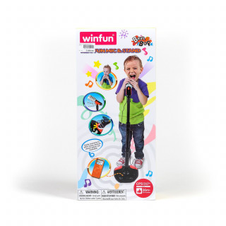 Win Fun igračka Mikrofon sa stalkom