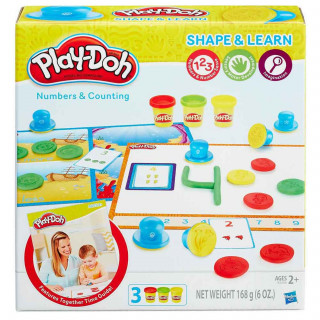 Play-doh plastelin set brojevi