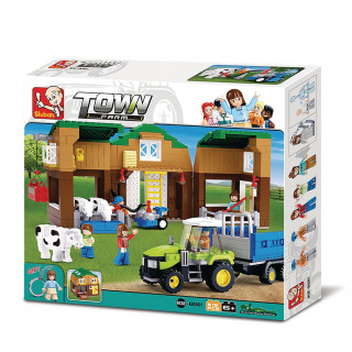 Sluban kocke, štalica za krave, 512 kom
