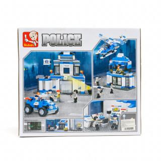 Sluban kocke, policijska stanica, 492 kom