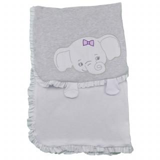 Lillo&Pippo prekrivač,devojčice,90x90cm