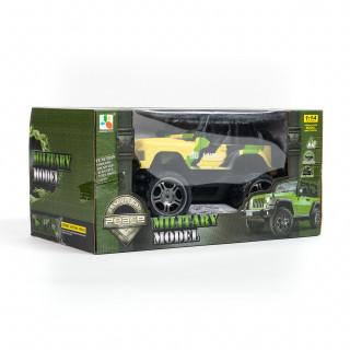 Hk mini igračka RC vojnički džip 1:14