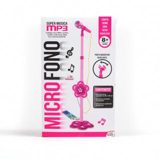 Hk mini igračka, mikrofon roze