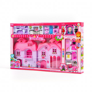 Hk mini igračka kuća za princeze