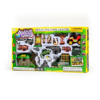 Hk mini igračka, set zivotinjski svet