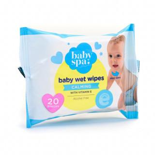 Baby spa vlažne maramice sa vitaminom E 20kom