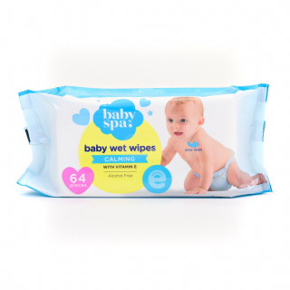 Baby spa vlažne maramice sa vitaminom E 64kom